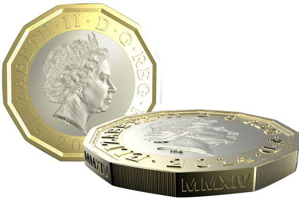 The £1 is going to be 12 sided – Govt of Great Britain announces