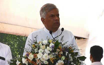 We are working with transparency : PM in Horana