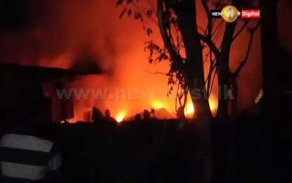 Fire breaks out at Piliyandala rubber manufacturing plant