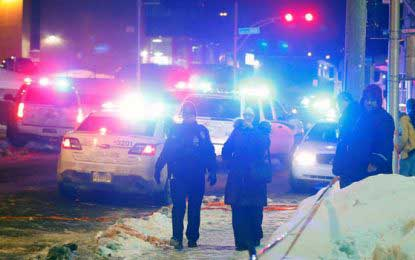 Quebec mosque shooting : Canadian PM denies 'terrorist attack'