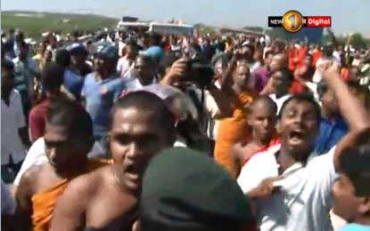 Tense situation erupts at SL -China Industrial Zone Development Project opening (Videos)