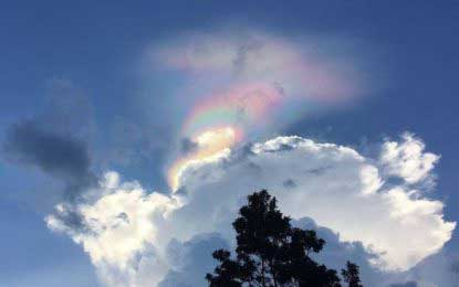 'Fire rainbow' pops up in the sky over Singapore