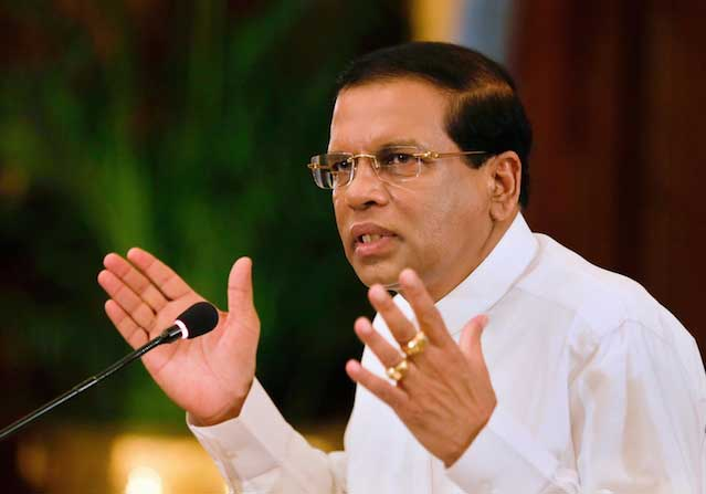 President scrutinises programmes for those affected by severe weather in Hambantota