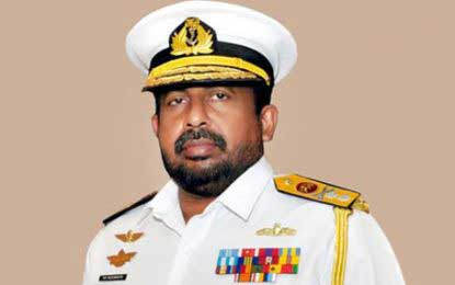 President grants service extension to Navy Commander Vice Admiral Ravindra Wijegunaratne