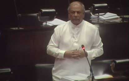 MP Gunawardena suspended from parliamentary activities