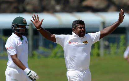 Cricket: SL defeats Bangladesh – Rangana Herath becomes most successful Left-Arm Spinner