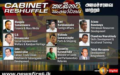 Cabinet reshuffle described as 'bizarre' – numbers swell