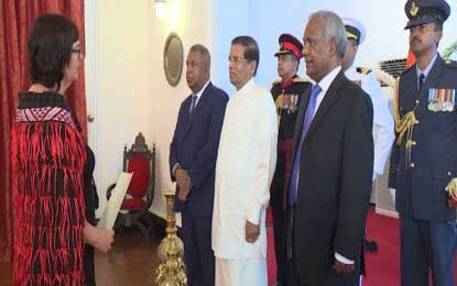 High Commissioners, Ambassadors present credentials to the President