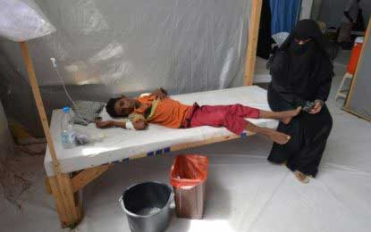 Yemen emergency as cholera spreads