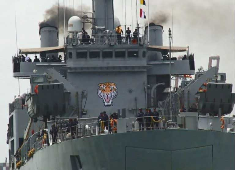 Another Indian ship arrives with relief material