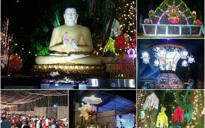 Sirasa -John Keells International Vesak Zone declared open