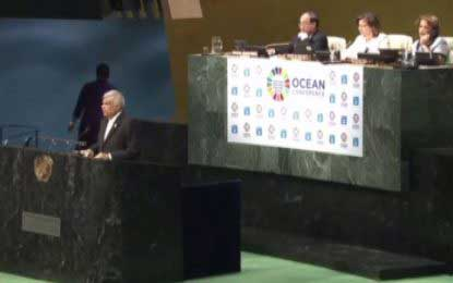Country fully committed to Paris Climate Change Agreement: PM at UN Ocean Conference