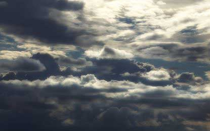 Met Department forecasts a cloudy Friday with rain and winds