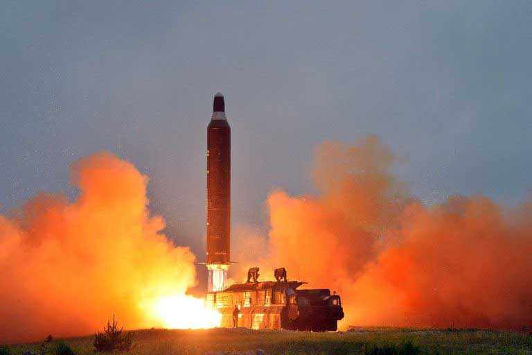 North Korea conducts new intercontinental ballistic missile test
