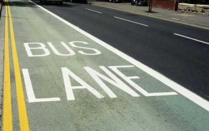 Priority bus lanes on the way