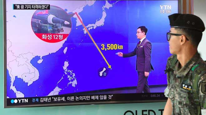 North Korea Guam missile strike plan 'ready by mid-August'