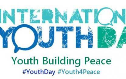 Peace – the focus and theme of International Youth Day