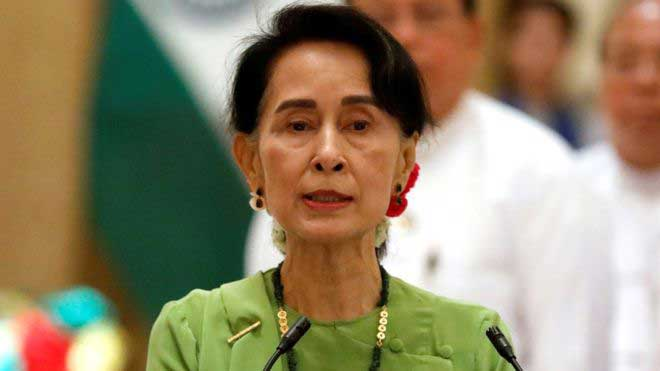 Myanmar's Aung San Suu Kyi to miss UN General Assembly