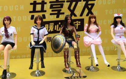 Chinese 'adult' doll rental service suspended amid controversy