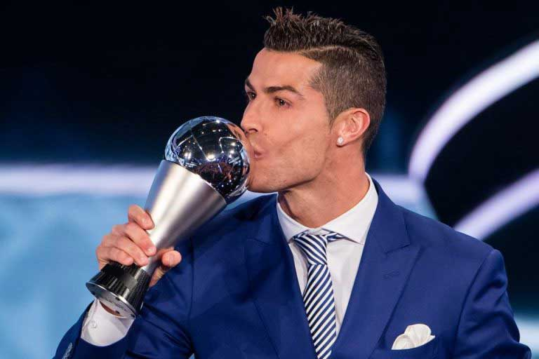 Cristiano Ronaldo beats Lionel Messi to FIFA best male player award