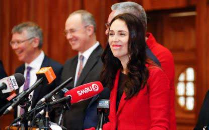New Zealand has elected itself the youngest Prime Minister since 1856