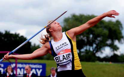 British javelin thrower Joanna Blair suspended in doping case