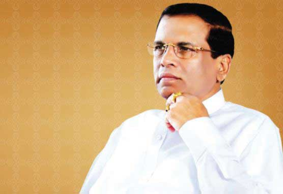President Sirisena expresses his sympathies over Las Vegas mass shooting