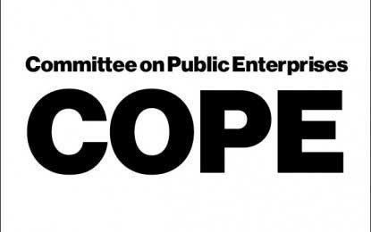 COPE's fourth report on public institutions' financial losses presented to parliament