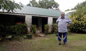 The house of President José Mujica