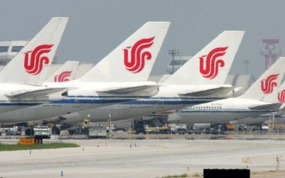 Air China suspends flights to North Korea