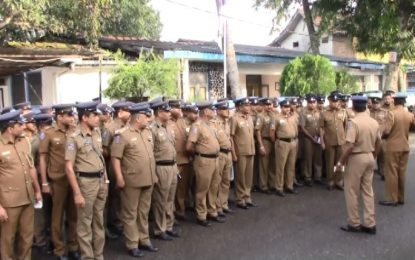 Police raids across Sri Lanka – 758 warranted suspects arrested