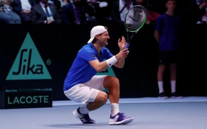 Poullie brings France the 10th Davis Cup