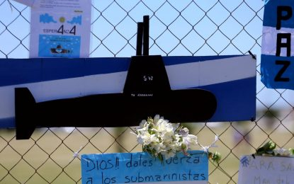 Argentine head of the Navy sacked following the loss of submarine