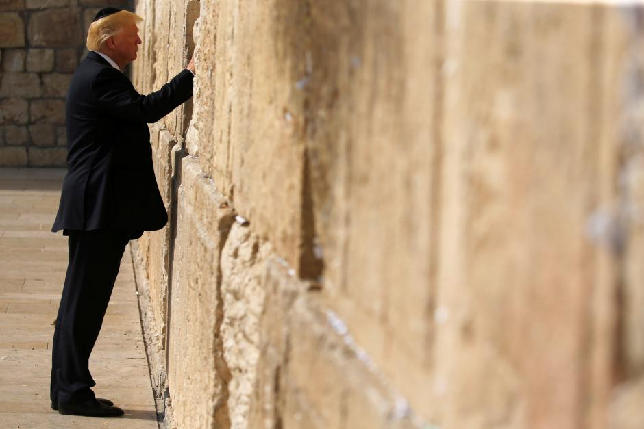 Israel plans to name a station after Trump near Western Wall