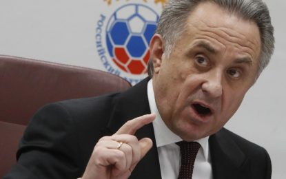 Soccer: Russia's Mutko steps down as head of World Cup organizing committee