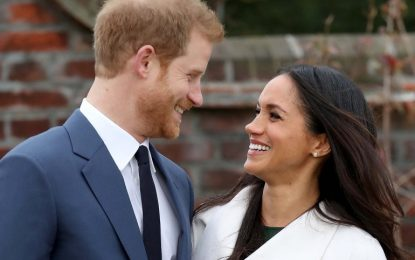 Prince Harry and Meghan Markle to wed on 19 May 2018
