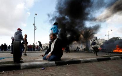 Trump's decisions tempt Palestinians to fire up southern Israel