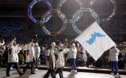 North and South Korea to march under single flag at Winter Olympics