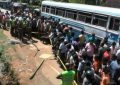 Unrest in Kegalle as reckless bus driver takes a life