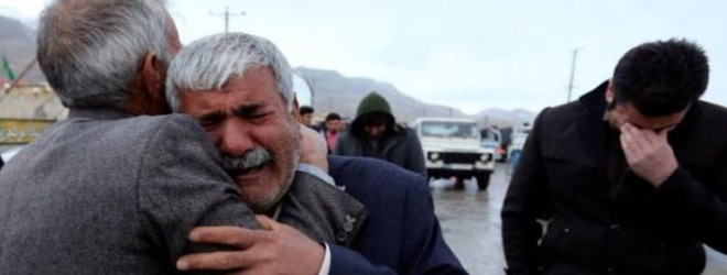 Iran plane crash: Agonizing wait continues for relatives