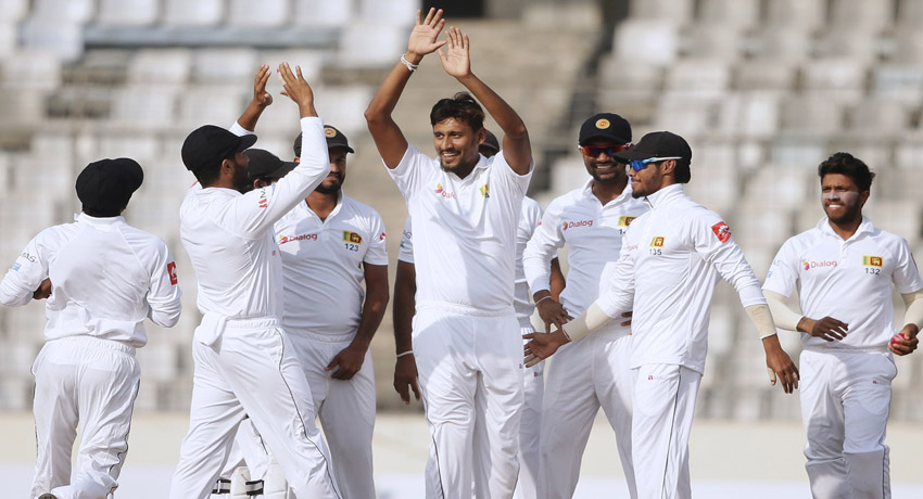 Cricket: Bangladesh all out for 110 – play commences with much promise for SL