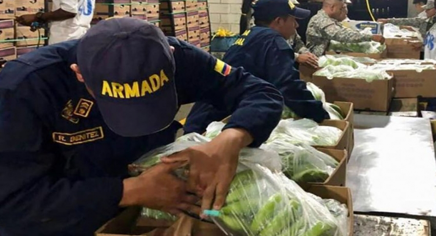 Colombia seizes 5.2 tons of cocaine hidden in banana shipment