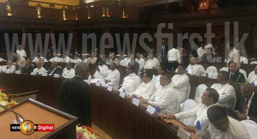 Cabinet reshuffle : Eight State Ministers and Ten Deputy Ministers sworn in