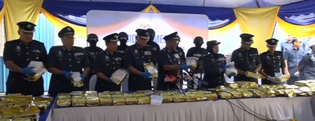 Malaysia seizes over 1 tonne of drugs in record bust