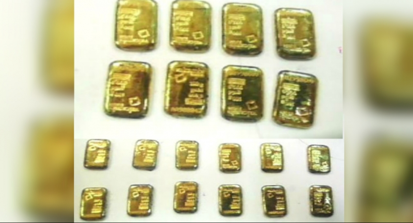 Three suspects arrested for possession of Gold at BIA