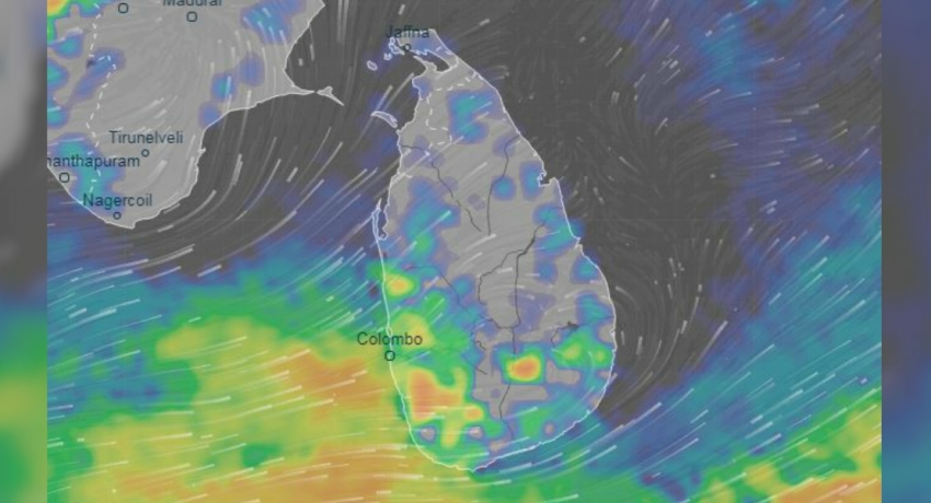Weather Alert: Heavy rainfall of about 150mm expected in Sabaragamuwa province