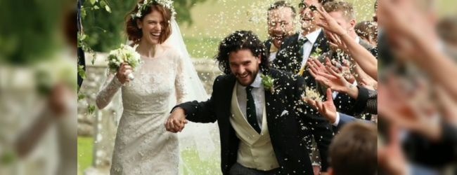 'Game of Thrones' Kit Harington and Rose Leslie wed