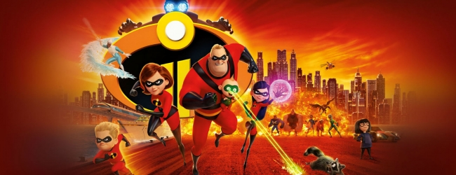"""Incredibles 2"" scores an estimated $180 million in opening weekend"