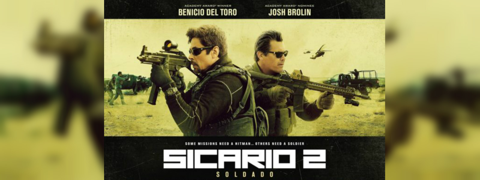 Sequel to acclaimed hit 'Sicario' launches in Los Angeles
