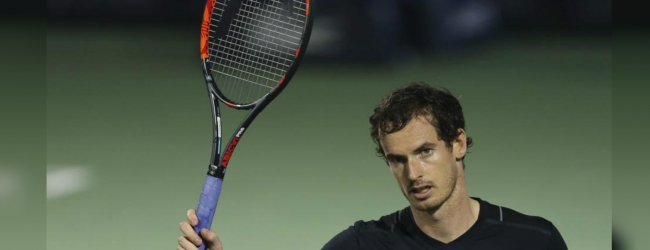 Andy Murray defeated in comeback game